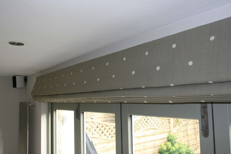 By far the largest single roman blinds we have ever undertaken - a great case study to show that sometimes the most obvious decisions aren't always the best
