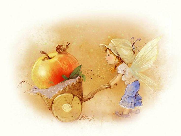 Екатерина Бабок. Яблочко.