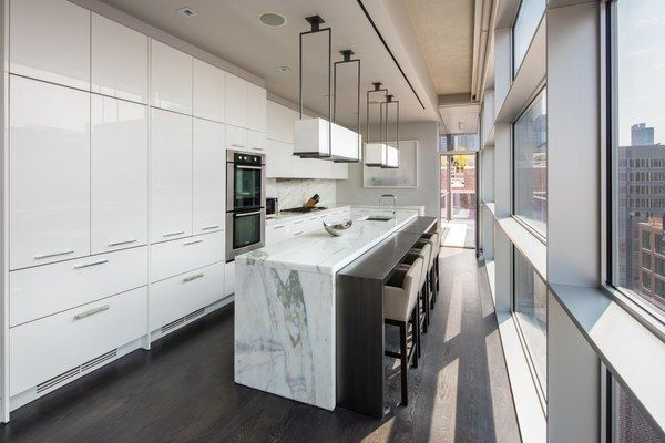 You could own the magnificent triplex the couple retreated to during New York Fashion Week