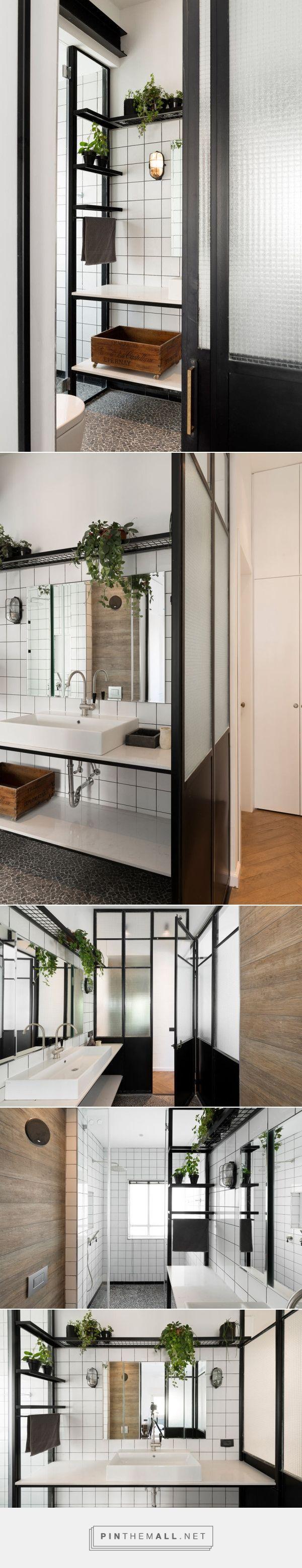 A Bauhaus Apartment in Tel Aviv Gets Renovated - Design Milk - created via http://pinthemall.net