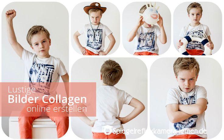 Lustige Bilder Collage erstellen – Kostenloses Fotocollagen-Programm
