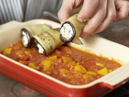 Auberginen-Cannelloni: Zubereitungsschritt 10