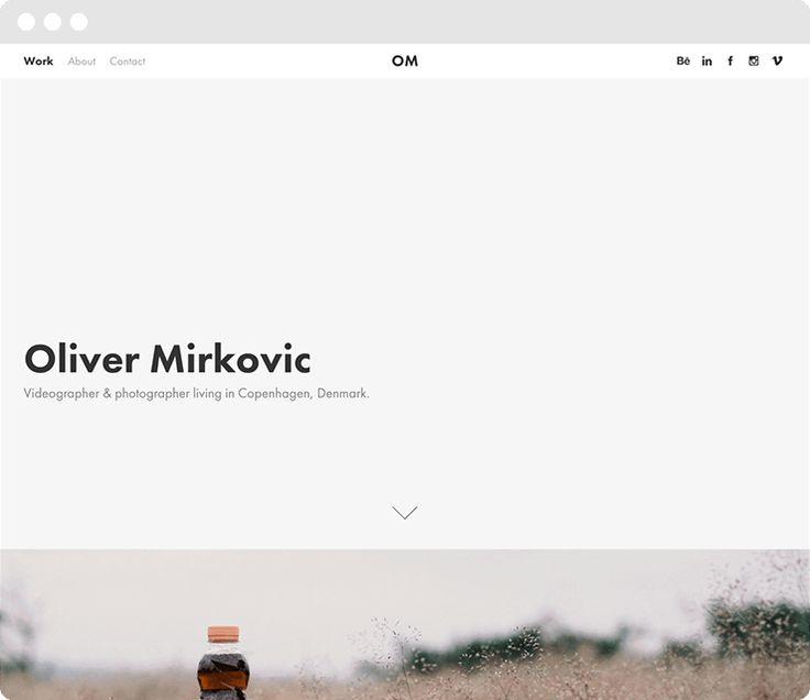 Oliver Mirkovic : http://olivermirkovic.com
