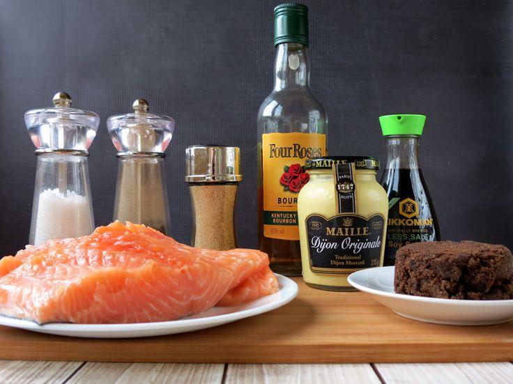How To Make Bourbon Glazed Salmon | YummyAddiction.com