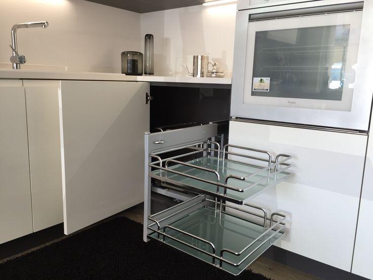Cucina #Scavolini modello #Motus: anta decorativo bianco puro ...