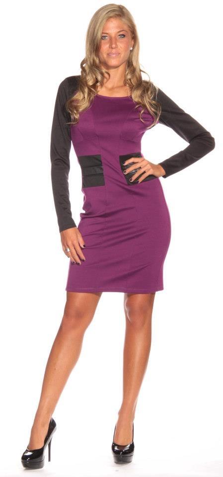 purple dress #shinefashion