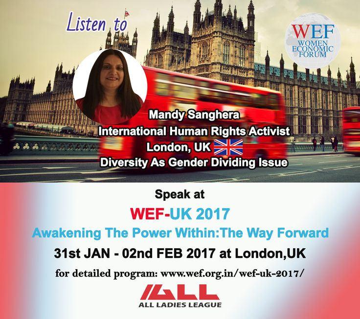"""Mandy Sanghera, International Human Rights Activist, London, UK Speaks on """"Diversity As Gender Dividing Issue"""" WEF-UK 2017.  If you would like to learn about WEF-UK 2017, please visit WEF website: http://bit.ly/2eWoBCY"""