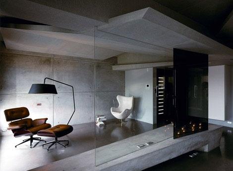 Extreme minimalist concrete contemporary homes for Extreme interior design home decor