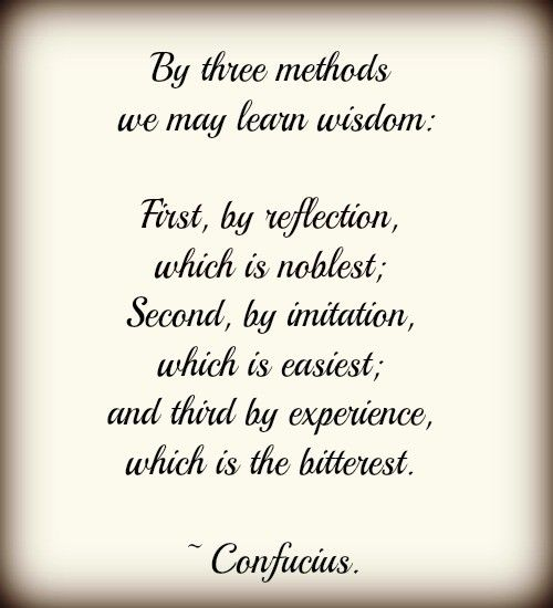 Confucius quote and essay?