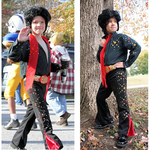 Elvis Costume - Submitted by the Fanning Family
