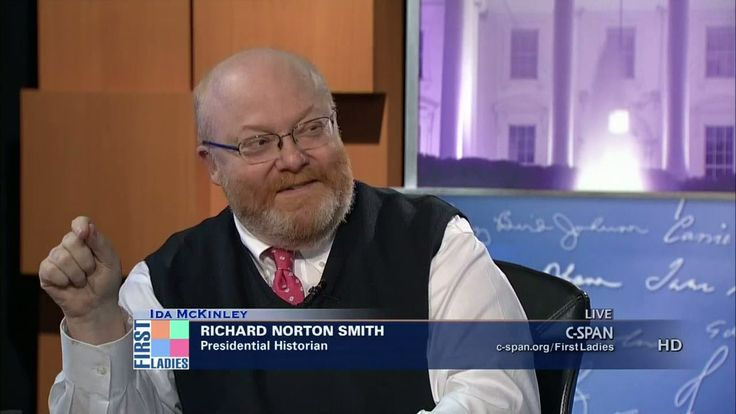 Richard Norton Smith talks about the life and influence of first lady Ida McKinley.