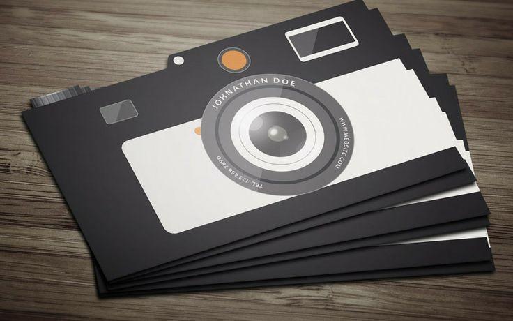Free Camera Business Card Template | Freebiesjedi