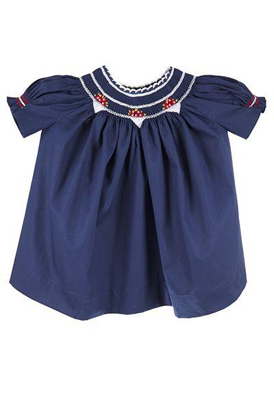 Smocked baby dress, just beautiful!! Vestido com ponto smock lindo!! #baby #babydresses #girlsdresses #bebe #vestidoparabebe #vestidos #vestidpopontosmock