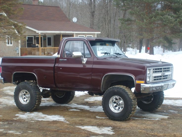 1987 chevy silverado   clhutch87's 1987 Chevrolet Silverado 1500 Regular Cab -heehee yes i put it on my christmas list.. what redneck girl wouldn't want a truck?