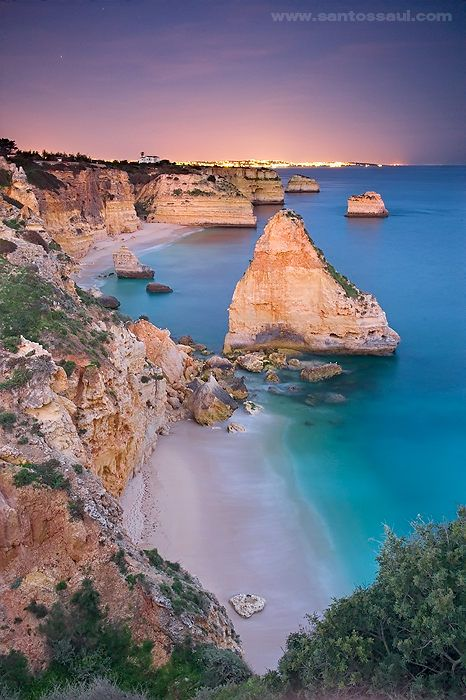Praia Marinha, Algarve. Portugal by Saul Santos Diaz - photographer # Pin++ for Pinterest #