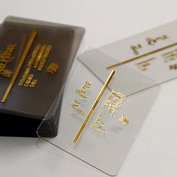 186 best images about Transparent Business Cards Arc