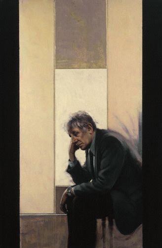 "Stephen Conroy, ""Portrait of Jonathan Miller"""