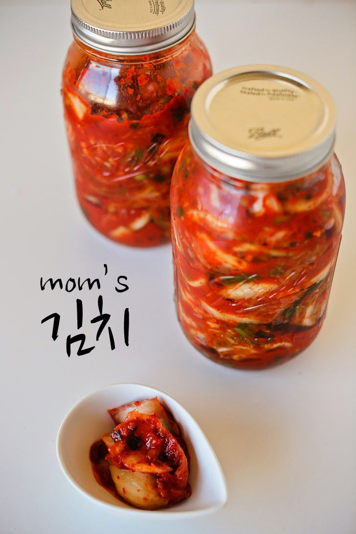 Mom's Authentic Kimchi Recipe.