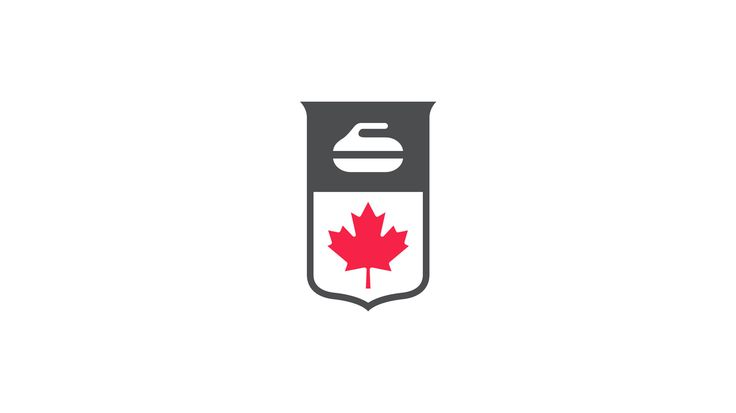 Curling Canada governing body of sport brand logo designed by Hulse & Durrell.