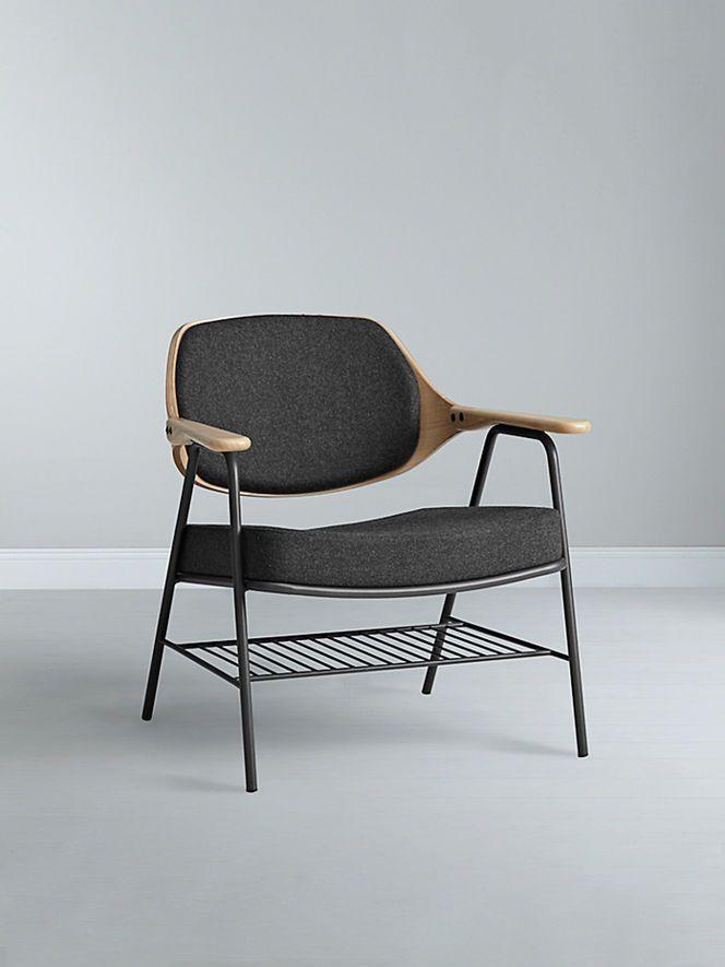 Oliver Hrubiak; 'Finn' Lounge Chair for John Lewis, 2013.
