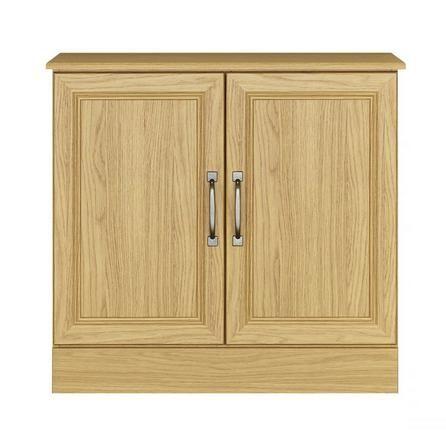 Ivory Light Oak Sideboard
