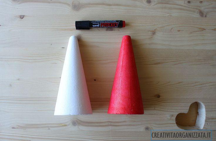 come colorare il cono dell'albero