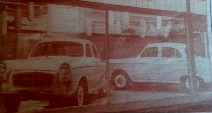 Jack Caseys show room 1963