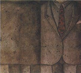 Domenico Gnoli, Man with Two Elevations