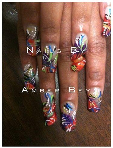 ghetto fabulous | Ghetto Fabulous! nail art photo