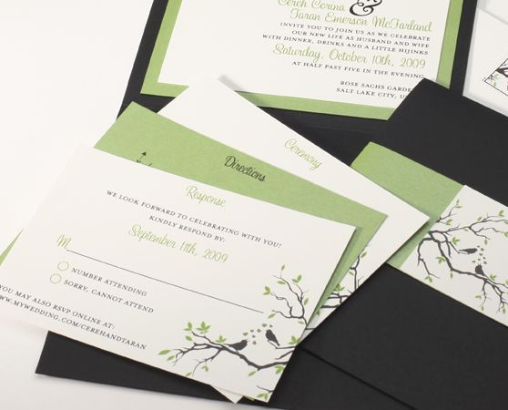 Adding the website as an option to RSVP on the reply card is a fabulous idea!