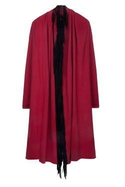 ChrisP by Chris Milonas Chatelet - Cotton Teery Cardigan With Fringes _ Fashionnoiz.com  #fashionnoiz