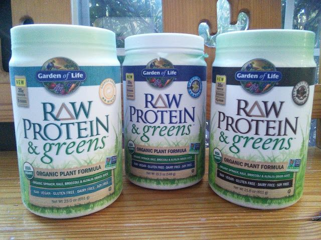 Garden of Life RAW Protein & greens! #protein #healthy #GardenofLife