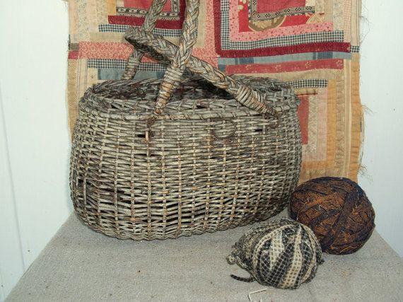 Basket Weaving Lancaster Pa : Best images about baskets antique vintage on