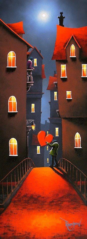 RENSHAW, David, UK artist: -- '