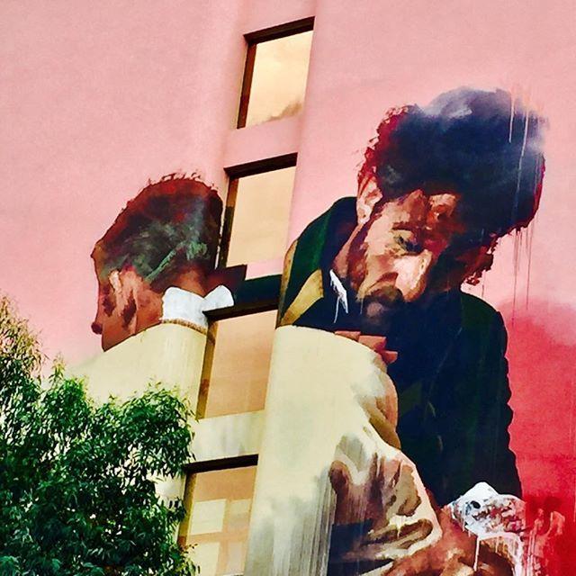 Care ..... #paris #weekend #urbanart #streetart #facade