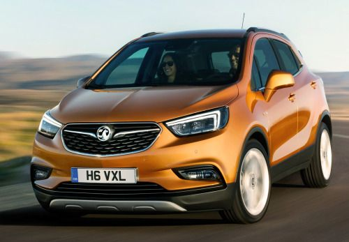 Vauxhall/Opel Mokka X, 2016. A revised version of General...