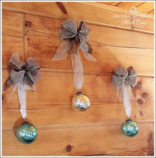 321 best Christmas Decor images on Pinterest Christmas decor - blue and silver christmas decorationschristmas tree decorations