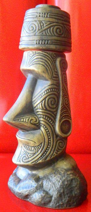 Atariki Moai Mug - Ooga-Mooga! Tiki Mugs & More