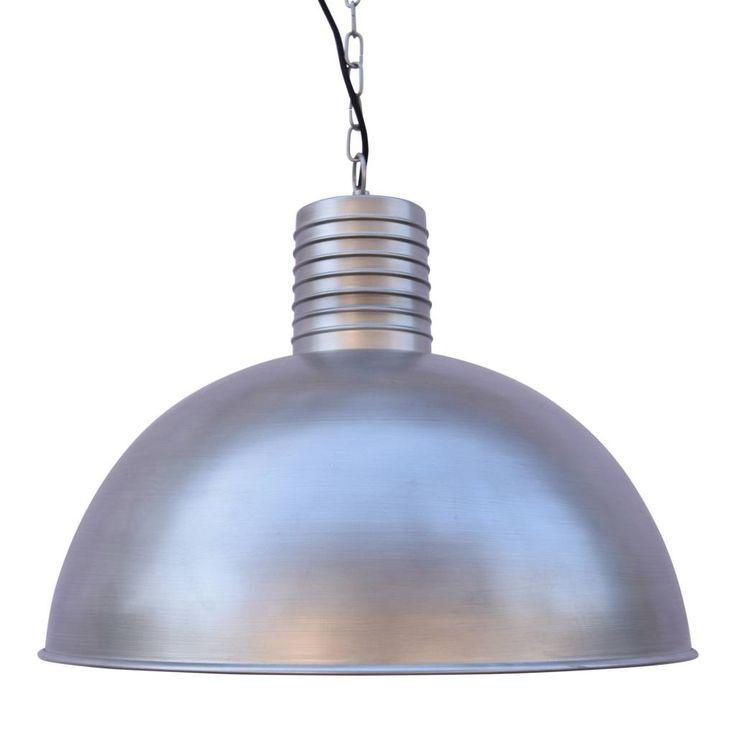 Sweet Living Hanglamp Dome antiek zink - 50 cm