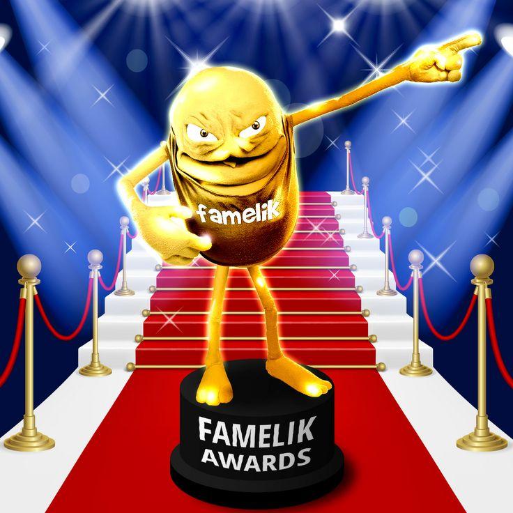 Assegna il tuo Famelik Award, condividilo con la persona più Famelik che conosci  #Gggwfddlahh