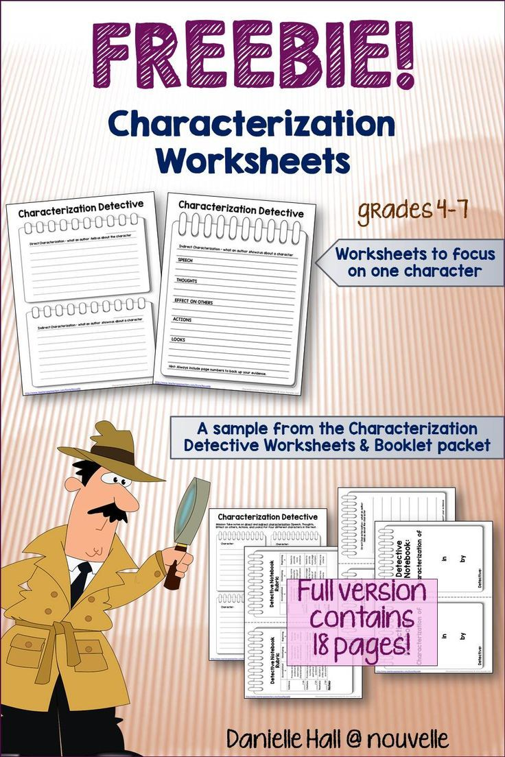 Worksheets Direct And Indirect Characterization Worksheet best 25 direct and indirect characterization ideas on pinterest students are hot the trail for examples of with these worksheets this is a sample from my