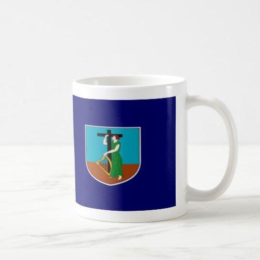 Montserrat Flag Coffee Mug