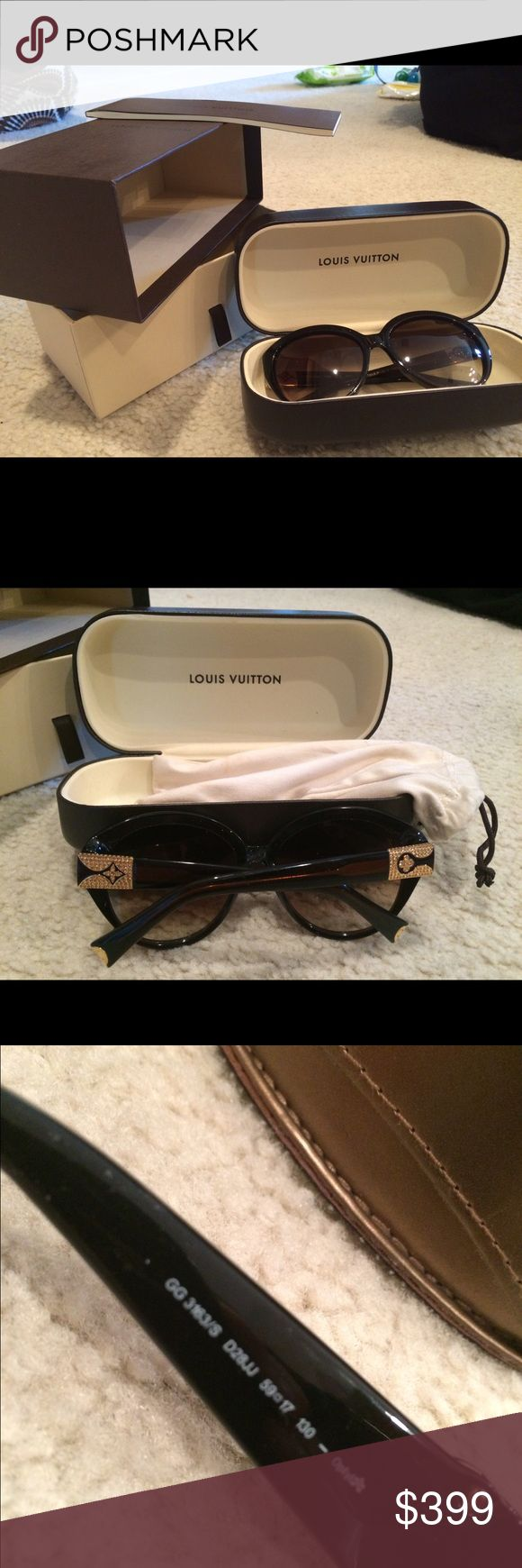 Authentic Louis Vuitton glasses Never been worn, with box, case a dust bag. Louis Vuitton Accessories Glasses