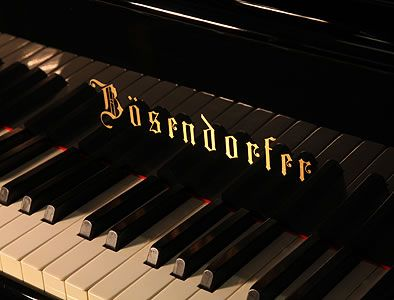 Bosendorfer Pianos. Established in1828 in Vienna, Austria.