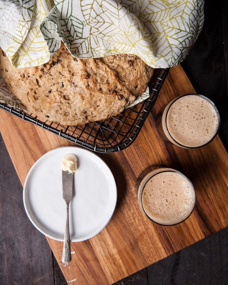 "Ombre Leaves Napkin Mercer Appetizer 5.25""  irish stpatricksday Happy #StPatricksDay! We're starting the day with some delicious #Irish Soda Bread by @thebeeroness. Click link in bio for the recipe!"