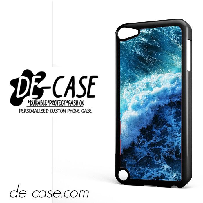 Stormy Blue Sea Wave DEAL-10199 Apple Phonecase Cover For Ipod Touch 5