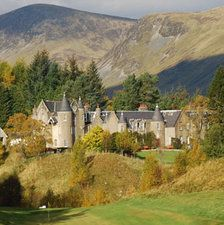 Dalmunzie Castle Hotel, Scotland, built in 1510 Blair Atholl to Glenshee | Cairngorms National Park