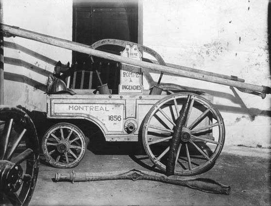 Pompe a incendies, Montreal 1856 - Service de sécurité incendie de Montréal — Wikipédia