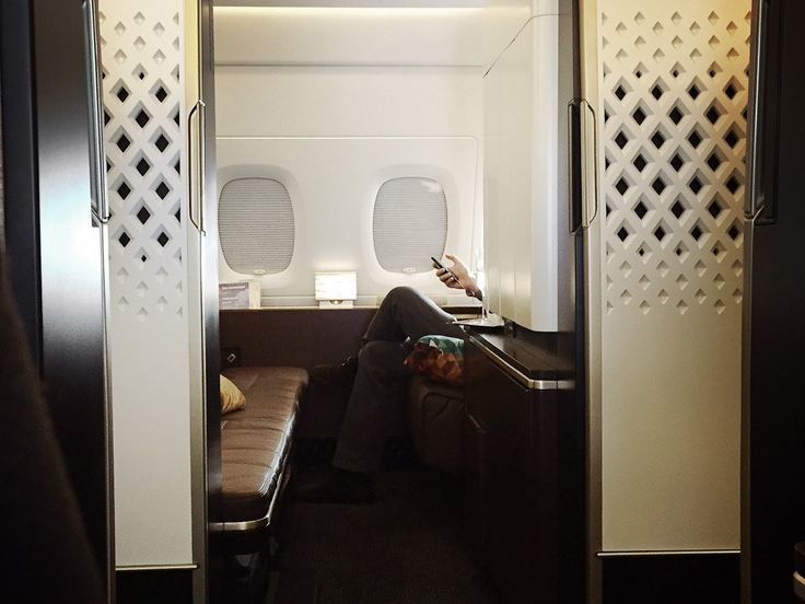 """What It's Like to Fly in Etihad's First Class """"Apartment"""""""