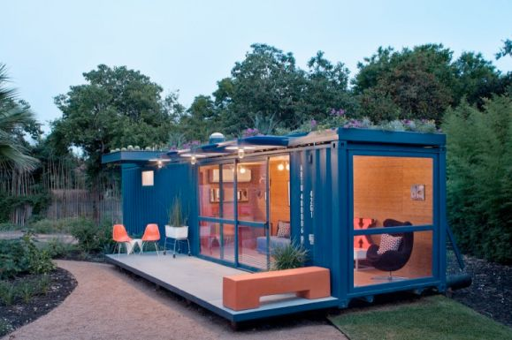 Shipping container housing my home as art shipping - Companies that build shipping container homes ...